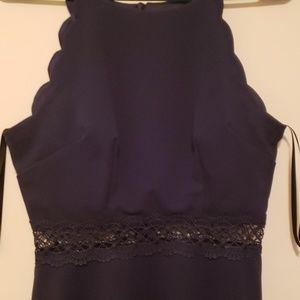 BCX Dresses - Navy Blue Dress